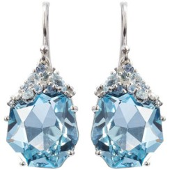 ALEXIS BITTAR Blueberry Marquis Drop Earring