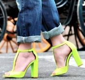 neon-yellow-sandals