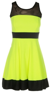 o-neon-yellow-contrast-mesh-skater-dress-22250