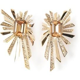 ROBERTO CAVALLI sun rays earrings